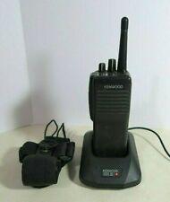 Kenwood TK-390 UHF Radio 450-490 MHz with Charger, Holster + Free Programming