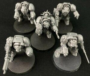 Terminators x5 - Space Marines - Warhammer 40k