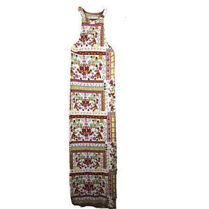 H&M Coachella Official Collection Women's Size 8 Floral Bohemian Maxi Dress