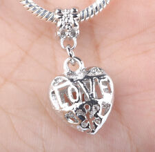 HOT Charms Beads Fit sterling 925 Necklace European charm Bracelet Chain #B284