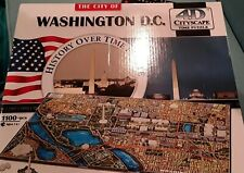 4D Puzzle Washington DC Excellent condition.   100% complete