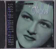 Capitol Spotlight On Great Ladies of Song by Jo Stafford Cd 1995 Female Vocals