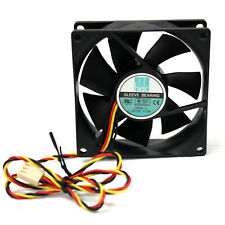80mm 3 Pin Cooling Fan 0.10A DC12V Sleeve Bearing for Computer Case Machine