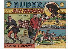 AUDAX première série n°13. BOB DAN. Ed. Artima 1950.