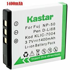 1x Kastar Battery for Fujifilm NP-50 FinePix F305EXR F500EXR F505EXR F550EXR