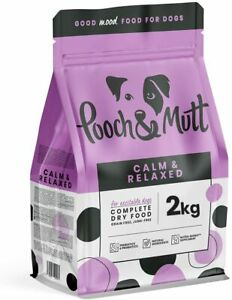 Pooch & Mutt - Calm & Relaxed, Complete Dry Dog Food Grain Free, Turkey and 2kg