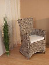 Rattansessel inkl. Sitzkissen Relaxsessel Loungesessel Sessel Stuhl Korbsessel