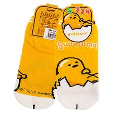Sanrio ぐでたま Gudetama Egg Ankle Low Cut Socks 22-26cm #127002 Yellow Brand New!
