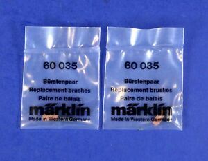 Lot of 2 Marklin HO Scale Replacement Parts - Engine Motor Brushes 60035