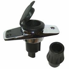 Perko 1046P0Sdp Locking Collar Pole Light Mounting Base 2 Pin Stainless Steel