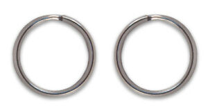 50 - Country Brook Design® 3/4 Inch Split Ring Key Chain Rings