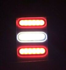 Indicatori di posizione laterali a LED 10x 6 Indicatore luminoso eccellente Indicatore di direzione laterale Luce di posizione Indicatore LED Lampada per camion Van Caravan Lorry Red