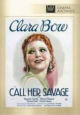 CALL HER SAVAGE DVD, Monroe Owsley, Gilbert Roland, Thelma Todd, Estelle Taylor,