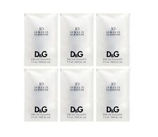 6 X D&G #10 La Roue De La Fortune Dolce Gabbana 0.05 OZ 1.5 ML Edt Spray Sample