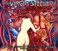 VIRGIN STEELE - THE MARRIAGE OF HEAVEN AND HELL/RE-RELEASE  CD + BONUS CD NEUF