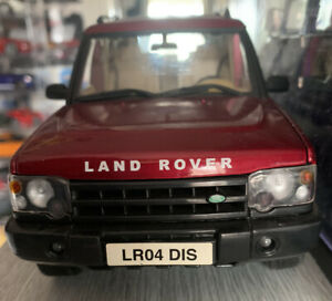 1:18 Land Rover Discovery Off Road 4x4 Model Car 1/18 RARE MODEL RED