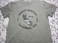 Large- Oakley Surplus California Oakley Brand T- Shirt