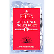 Prices Sentinel Nightlights 8 Hour Burn Time Pack of 50 White