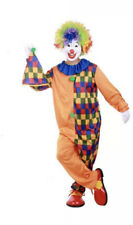 CLOWN COSTUME Fancy Dress Costume Circus Carnival Outfit Halloween 170-180CM