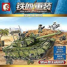 WW2 Army Military Tank Building Block Toy Kids Toys Puzzle Gift 105751