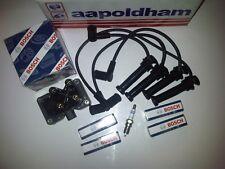 FORD Mondeo MK3 MK4 1.8 2.0 BOSCH BOBINA DI ACCENSIONE Pack + CANDELE + Lead Spina