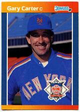Gary CARTER #41 New York Mets Donruss All-Stars 1989 carta di baseball (C592)