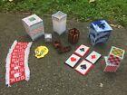 Handmade Plastic Canvas Tweety Bird Tissue Box Cover coasters Playing Cards Box