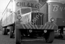 "1940's Mack? Truck and Fruehauf Trailer Semi Rig 13""x 19"" Poster Photo 35"