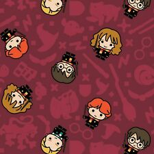 Harry Potter Rookie Wizards Fabric - Cotton Fabric Material
