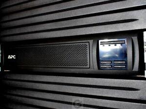 112v~ APC Smart UPS X SMX1000 1kva 2U 120v 1000 LCD Rack Tower #NewBatts
