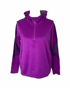 Girls size XL Under Armour Cold gear 1/2 zip Athletic and Hooded Sweatshirt