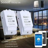 2018 Wireless Sonoff TH16 Temperature Humidity Sensor Monitoring WiFi Remote HQ