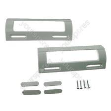 2 x AEG and Ariston Universal White Fridge Freezer Door Handle 80mm-150mm