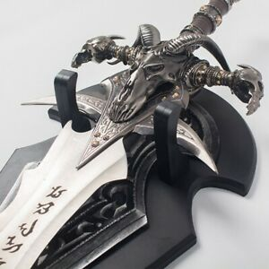 World of Warcraft  Arthas Menethil  Lich King Stainless Steel  Frostmourne Sword