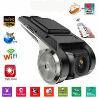 HD 1080P Wifi Car DVR Camera Video Recorder Dash Cam Night Vision G-sensor Mini