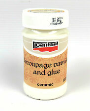 Pentart Decoupage varnish and glue for ceramic 100ml
