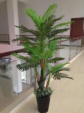 Large Artificial Plant Areca palm Tree  147cm High,Pot,Faux Plant Fake Real Touc