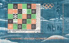 Y.A. R,/North Yemen n. blocco/Olympia 1972 Sapporo
