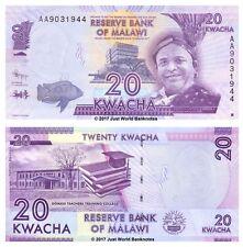 Malawi 20 Kwacha 2012 P-57 1st Prefix AA Banknotes  UNC
