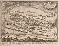 Matthäus Merian -  Schlacht bei Alerheim - Kupferstich - 1645