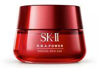SK-II RNA Power Radical New Age Moisturizing Cream anti-aging 2.7oz 80ml NEW