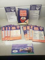 Lot Of 12 Nintendo NES Game Genie Code Update Books with Book Complete SET WOW