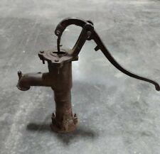 Cast Iron Vintage Antique Garden Water Pump Well Fountain