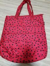 YAYOI KUSAMA x UNIQLO Tote Bag Shoulder Bag Red Polka dots polyester Nylon NEW