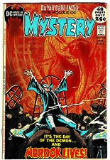 HOUSE OF MYSTERY #198 (FN/VF) Classic Bronze-Age Horror! 52 Pages! DC 1972