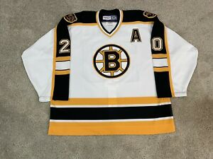 Boston Bruins Pro Stock Authentic CCM Center Ice NHL Jersey 58 Lapointe