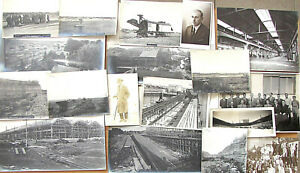 RUSSIAN USSR 18 CONSTRUCTIVIST AVANT-GARDE PHOTOS HYDROELECTRIC PLANT 1920's