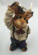 Boyds Bear Fletcher Puckerup...Holiday Kisses Ornament Cat Figurine 271801 NEW