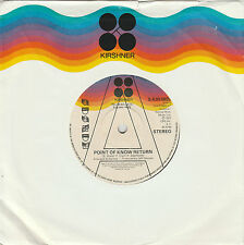 Kansas -Point Of Know Return - Great record / Very Rare Promo / mint condition