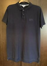 SoulCal & Co Navy Blue Polo T-shirt Size L Large